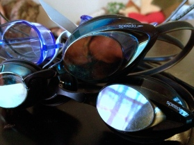 My goggle collection